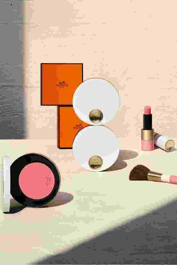 Hermès Beauty: maquiagem com cara de item de colecionador - Divulgação - Divulgação
