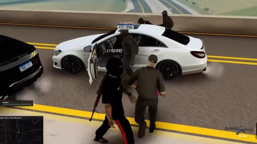 GTA RP a partir de GTA San Andreas - Reprodução/Rockstar