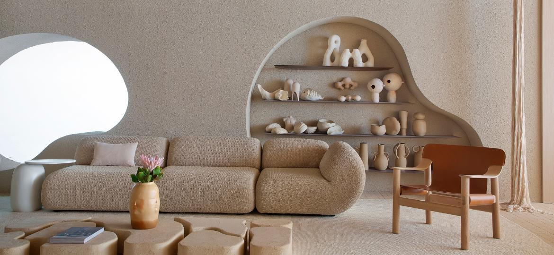 Os tons claros marcam o design de Nildo José, um dos destaques de tendência da CasaCor 2021 - MCA Estúdio