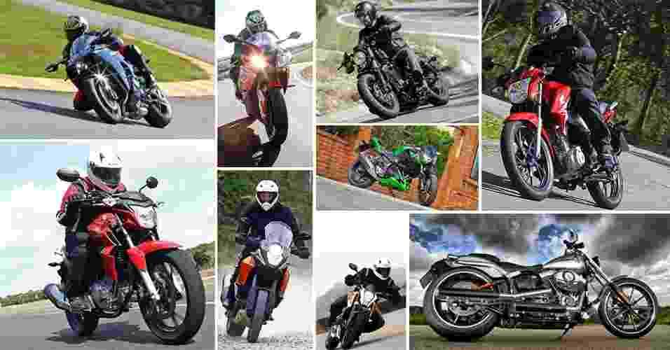 Retrospectiva 2015: veja 30 motos que marcaram o ano - Arte UOL Carros