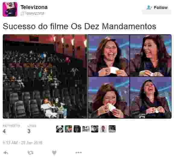 A tradicional risada da cantora Fafá de Belém foi utilizada por internauta - Reprodução/Twitter
