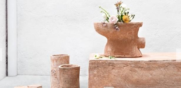 A Merdacotta é um material sustentável criado pelo arquiteto italiano Luca Cipelletti  - Divulgação