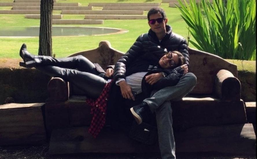 Giovanna Antonelli e Leonardo Nogueira durante férias em Portugal no início deste ano