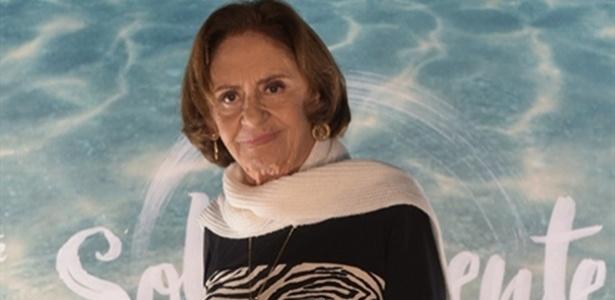Para Laura Cardoso, a TV avançou apenas tecnologiamente - Estevam Avellar/TV Globo