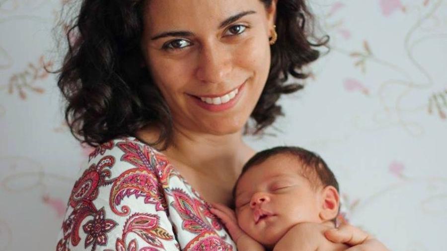 Milena Souza tinha medo de deixar a filha, Sofia, no berço à noite, quando ela era recém-nascida - Momento Único Foto e Filmagem/Divulgação