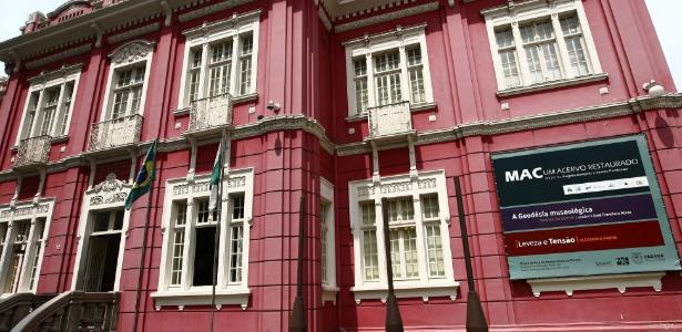 Museu de Arte Contemporânea do Paraná (MAC-PR) tem em sua programação  especial visitas mediadas a exposições do acervo do espaço - Divulgação/Jonas  Oliveira/ANPr