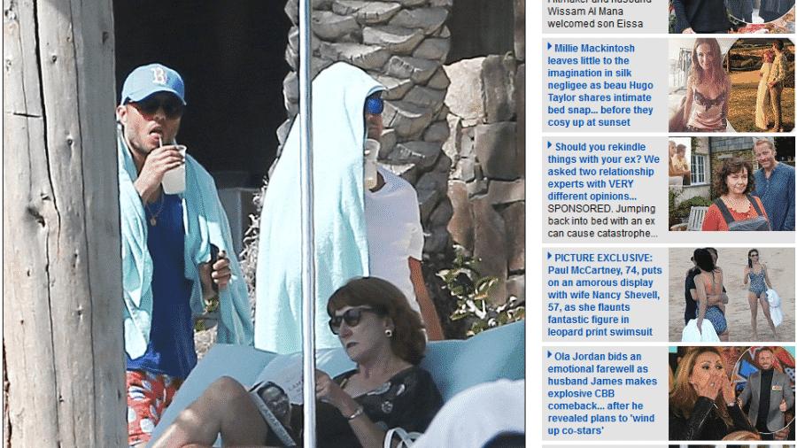 Leonardo DiCaprio curte o verão no Cabo San Lucas, no México - Reprodução/Daily Mail