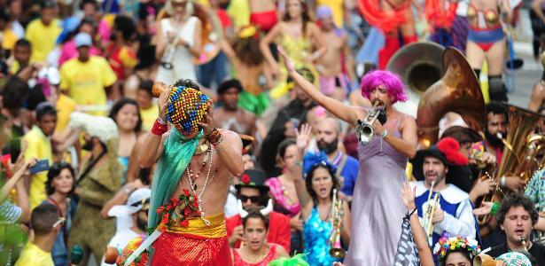 O carnaval de rua em São Paulo, este ano, reuniu mais de 3 milhões de foliões, segundo cálculos da Prefeitura - Junior Lago/UOL