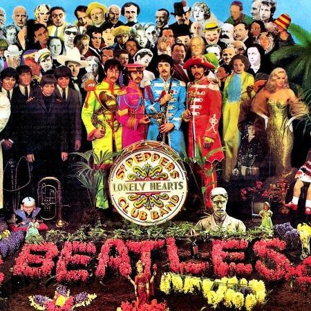"""Capa do álbum """"Sgt Peppers Lonely Heart Club Band"""" - Divulgação"""