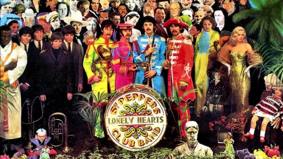 "Capa do álbum ""Sgt Peppers Lonely Heart Club Band"" - Divulgação"