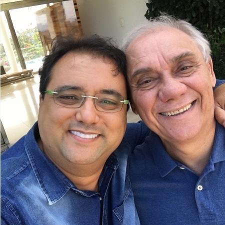 Geraldo Luís e Marcelo Rezende - Reprodução/Instagram