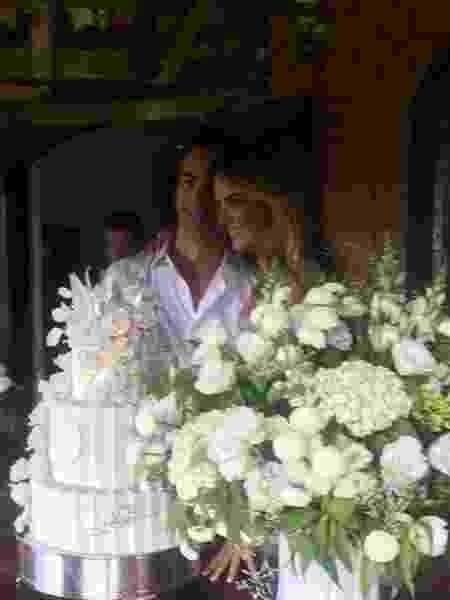 Ticiane e Cesar Tralli se casaram civil, no sábado dia 11 de novembro, 2017, em Morungaba, interior de São Paulo - Reprodução/Instagram