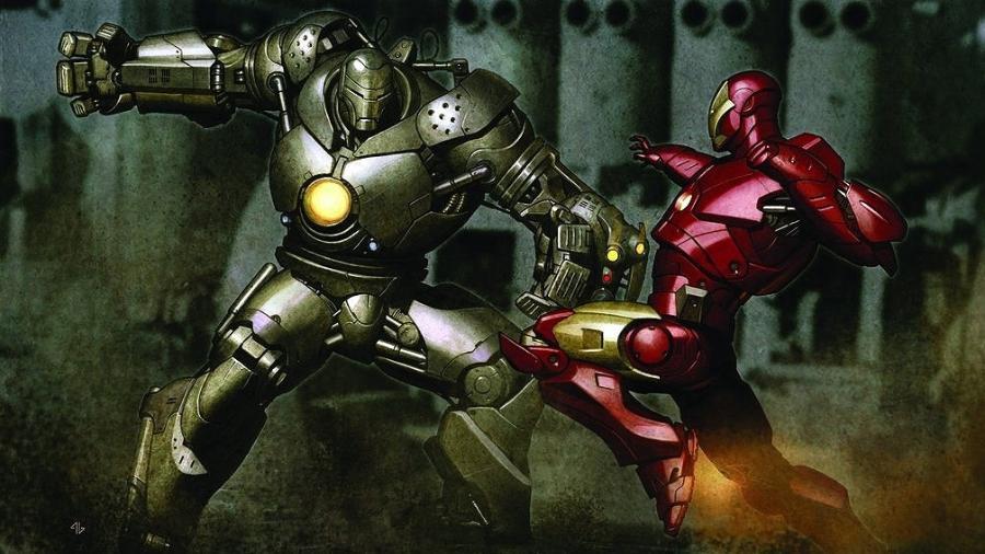 """Arte conceitual de """"Homem de Ferro"""" - Reprodução"""