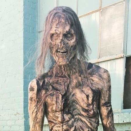 Zumbi aparece nu em episódio de The Walking Dead - Reprodução/Instagram