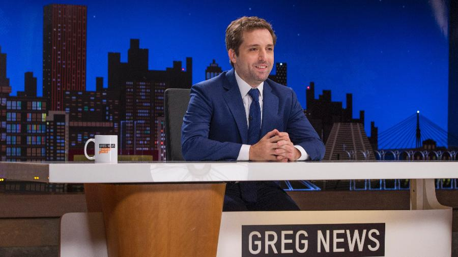 "Gregório Duvivier estreia a segunda temporada do ""Greg News"", na HBO, nesta sexta-feira (23) às 22h - Rogério Resende/HBO"