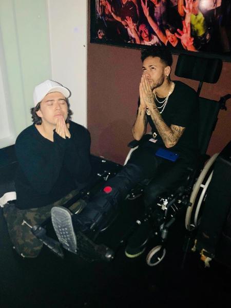 Whindersson Nunes e Neymar Jr. - Reprodução/Instagram