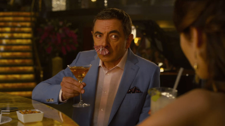 Rowan Atkinson em Johnny English 3 - Reprodução