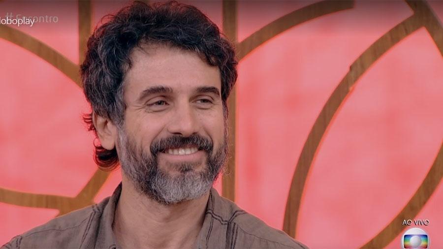 """Eriberto Leão no """"Encontro"""" - Reprodução/Globo"""