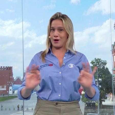Fernanda Gentil - Reprodução/TV Globo