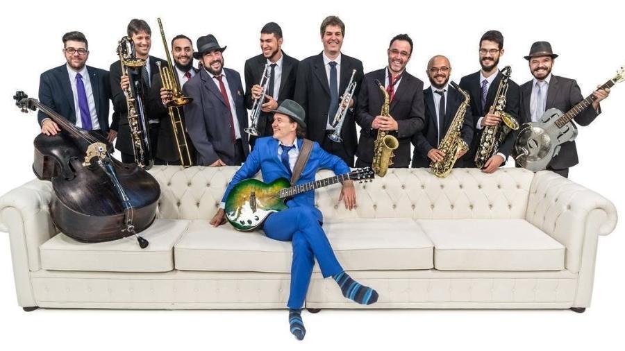 João Suplicy e a Big Band na Gaveta - Divulgação
