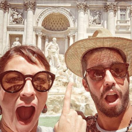 Pedro Scooby e Luana Piovani na Itália - Reprodução/Instagram