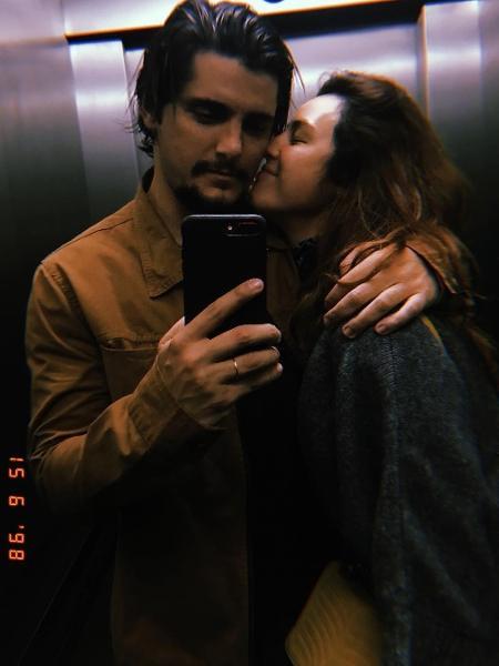 Bruno Gissoni posta foto romântica ao lado de Yanna Lavigne - Reprodução/Instagram