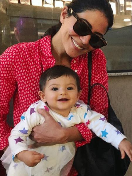 Carol Castro e a filha, Nina - Reprodução/Instagram