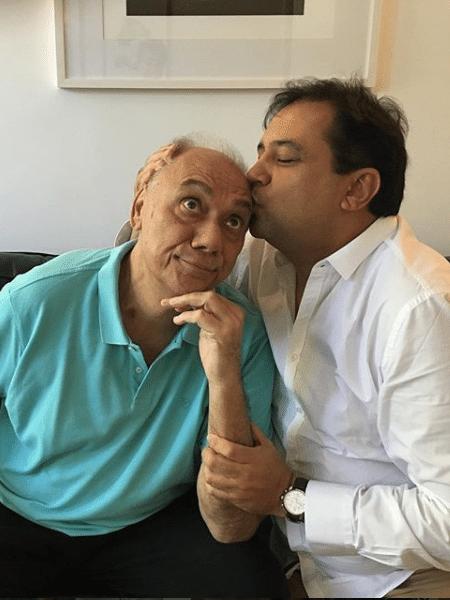 Marcelo Rezende e Geraldo Luis - Reprodução/Instagram