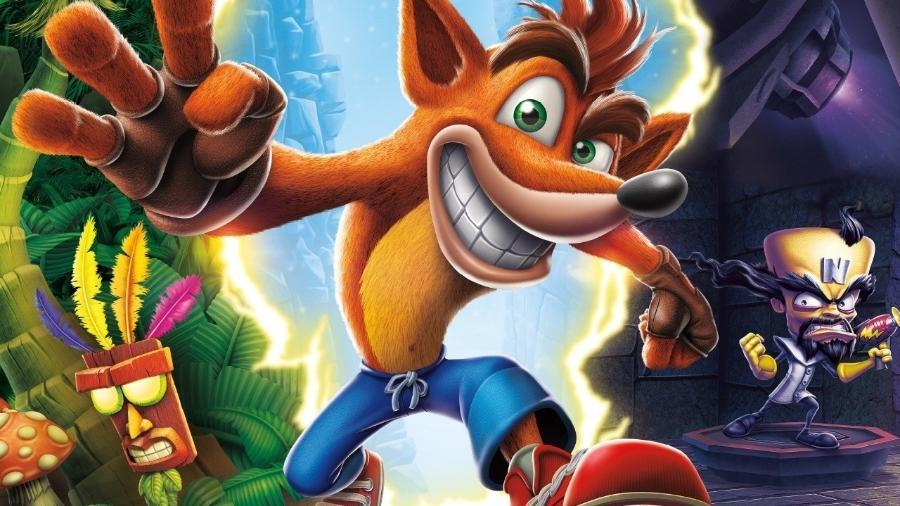 Crash Bandicoot - Reprodução