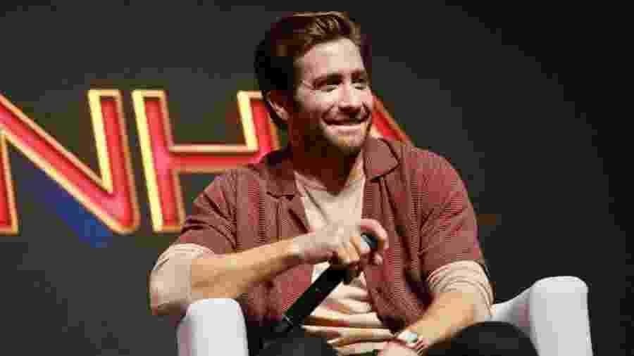 "Jake Gyllenhaal fala sobre ""Homem Aranha: Longe de Casa"" na CCXP 2018 - Iwi Onodera/UOL"