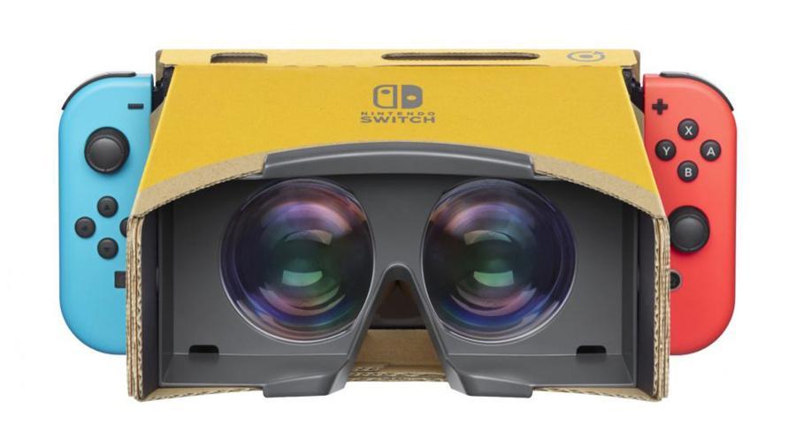 O Nintendo Labo: VR Kit ajudou a elevar o preço das ações da Nintendo - Reprodução