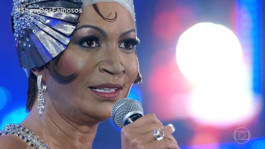 Solange Almeida surpreendeu como Whitney Houston - Reprodução/Globo