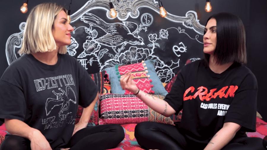 Giovanna Ewbank entrevista Cleo Pires - Reprodução/YouTube