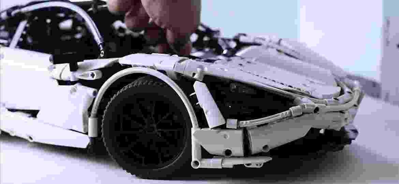 Reprodução da 720S impressiona pelos detalhes fiéis ao carro de verdade - Divulgação