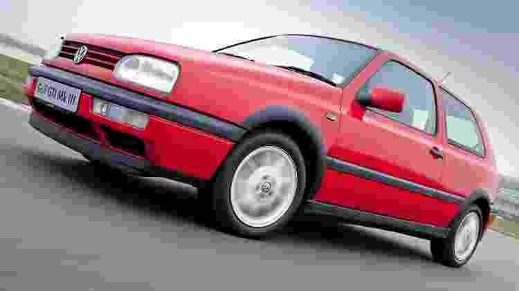 GTI Mk3 tinha duas portas, mas motor era um pacato 2.0 - Divulgação