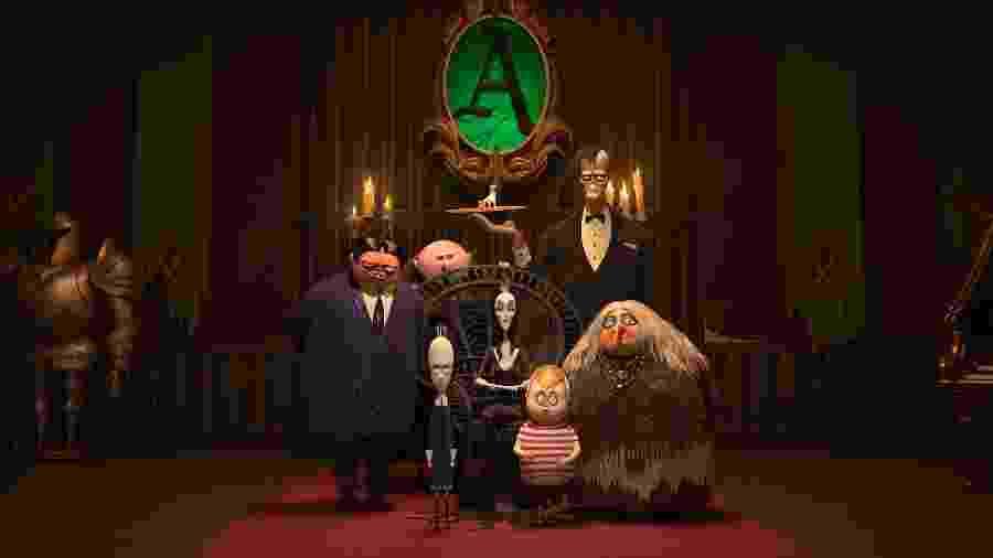 A Família Addams - Divulgação