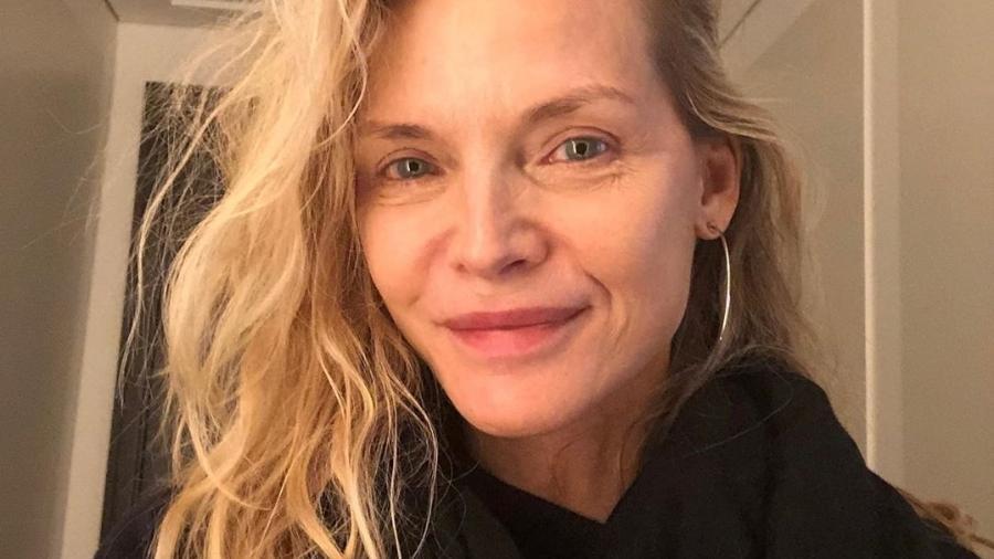 Michelle Pfeiffer de cara limpa - Reprodução/Instagram