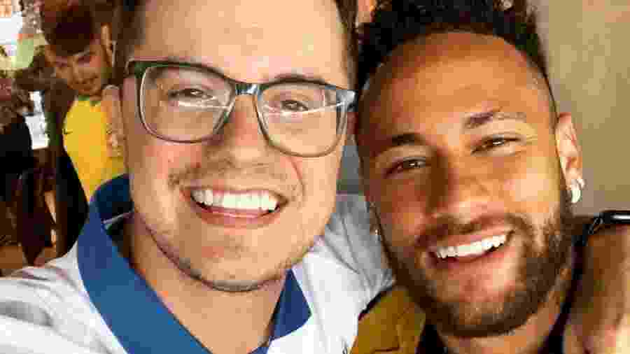 Pastor Deive Leonardo com o jogador Neymar - Reprodução/Instagram
