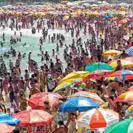 Até Copacabana, no Rio de Janeiro, esteve imprópria para o banho em janeiro do ano passado - iStock