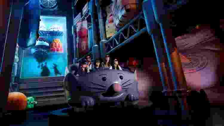 Ratatouille 2, na Disneyland Paris - Divulgação