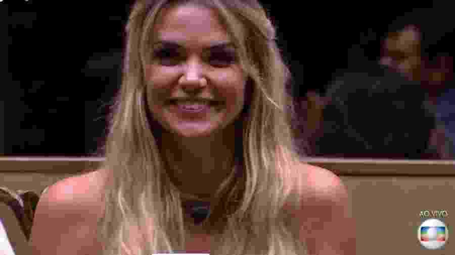 Marcela escapa do paredão - Reprodução/TV Globo