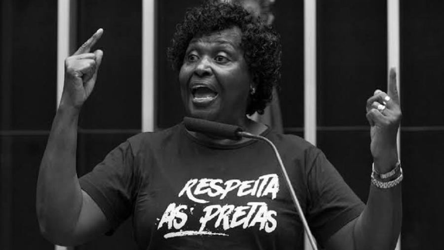 Deputada federal Benedita da Silva (PT) fala sobre o 13 de Maio - Divulgação/Assessoria de Imprensa