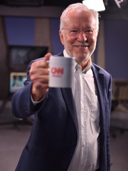Alexandre Garcia hoje é comentarista da CNN Brasil - Divulgação