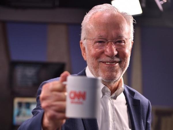 Alexandre Garcia, novo contratado da CNN Brasil