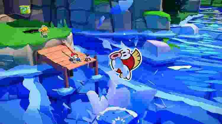 Paper Mario 5 - Divulgação/PowerUpGaming - Divulgação/PowerUpGaming