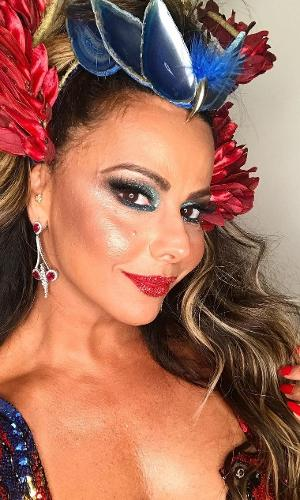 Viviane Araújo comentou sobre carnaval