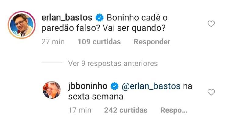 BBB 21: Boninho revela quando será o paredão falso - Reprodução/Instagram - Reprodução/Instagram