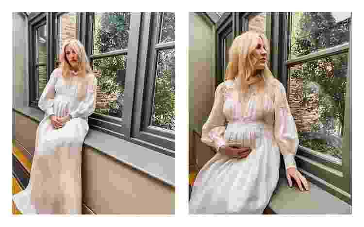 Ellie Goulding posa grávida para a Vogue - Reprodução - Reprodução