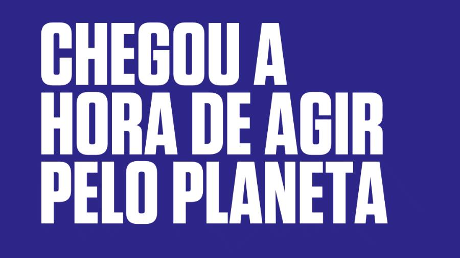 Campanha Explicando as Mudanças Climáticas para a conscientização sobre o tema - Divulgação