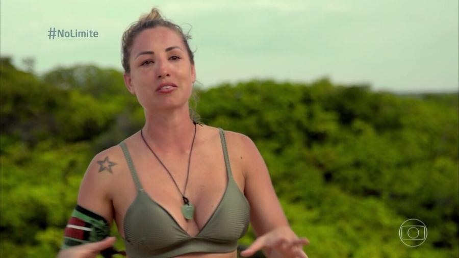 No Limite: Equipe explica inchaço no rosto de Jéssica após questionamento de internautas - Reprodução/Globoplay